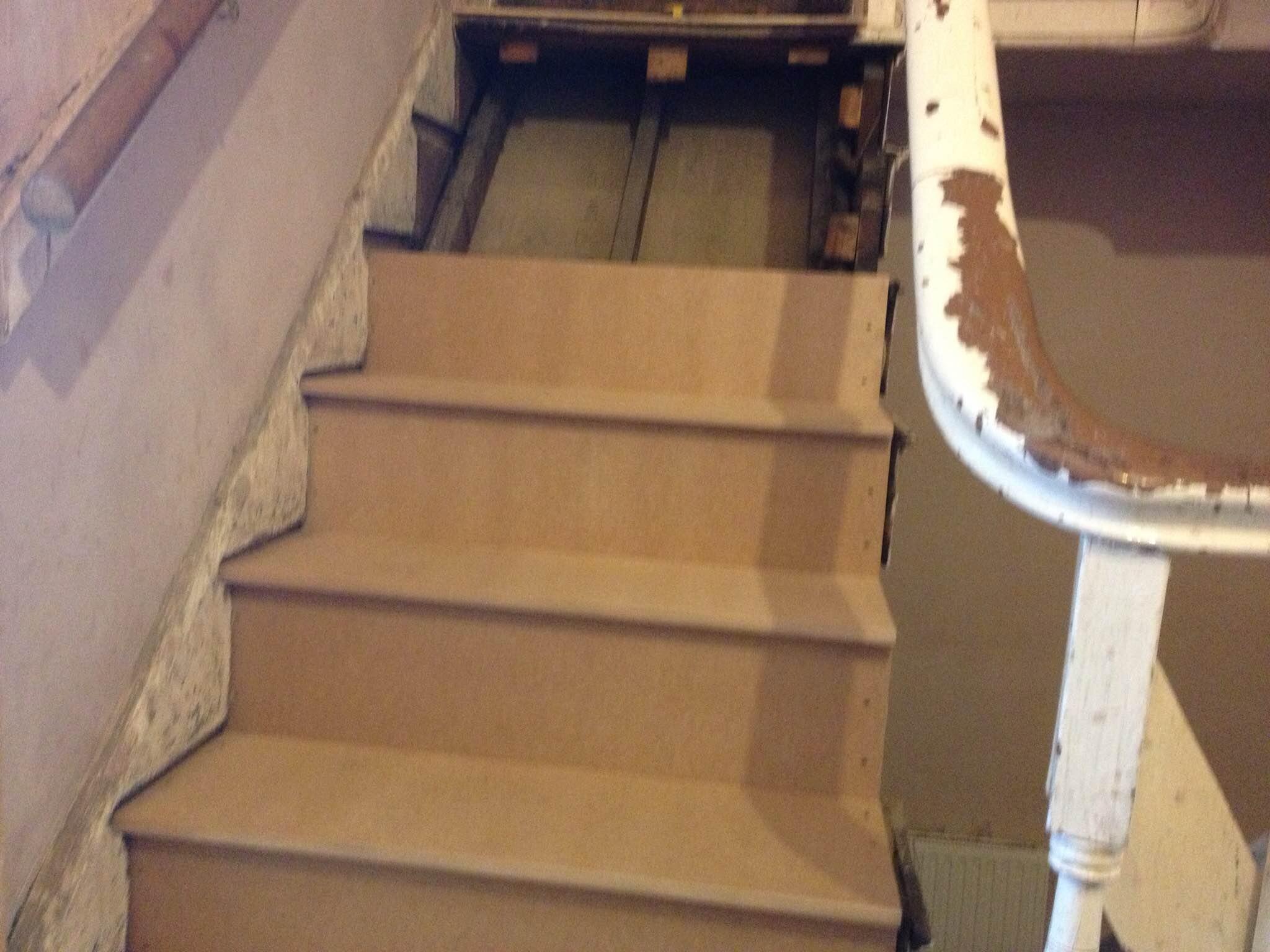 wooden staircases repair hull